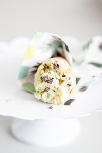 hemmagjord glass